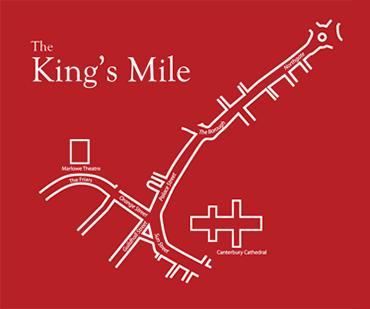 Map of the King's Mile